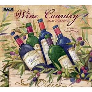 Lang 2021 Wine Country Calendar