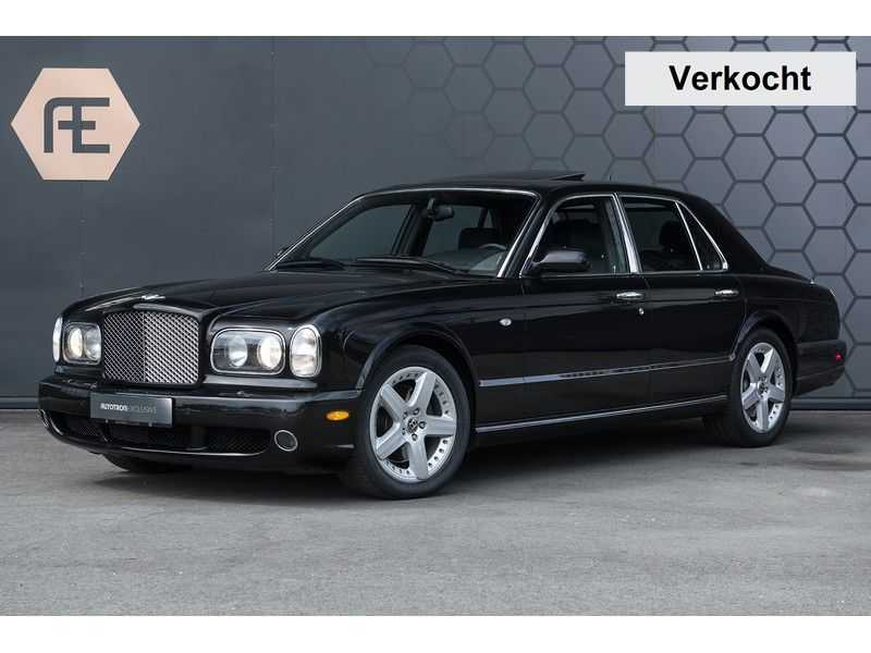 Bentley Arnage 6.8 V8 T Mulliner Black badge + Mulliner + Recent onderhoud afbeelding 4
