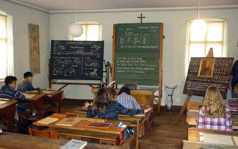 Unterricht in der Vergangenheit