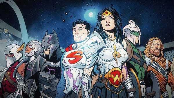 Liga da Justiça de Armadura em HQ de Scott Snyder