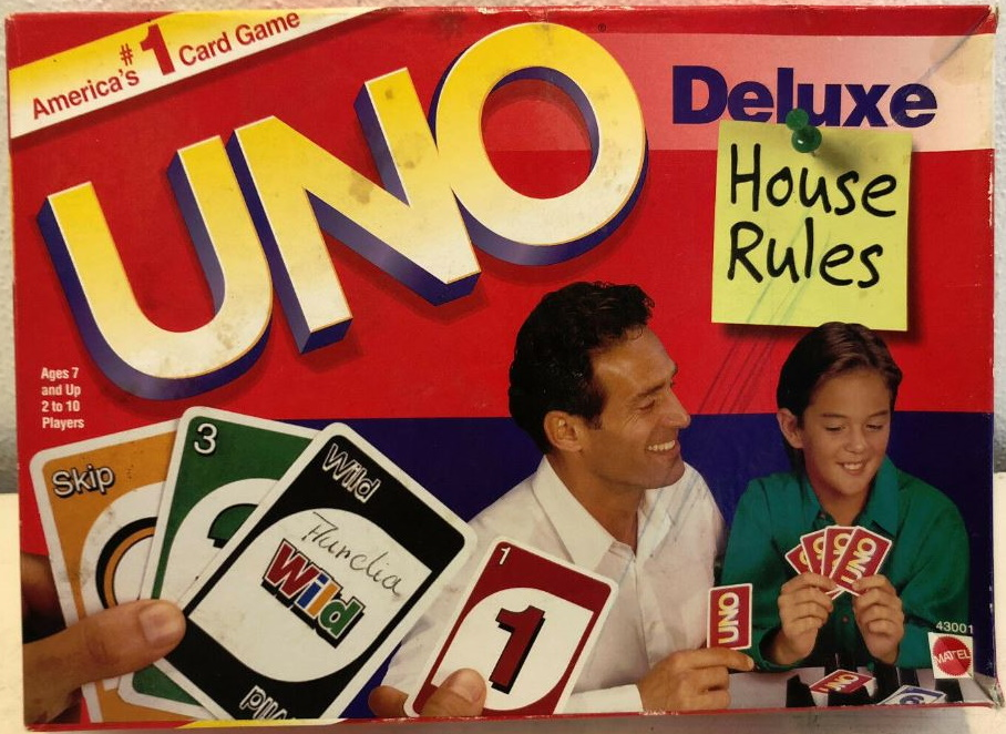 Uno Deluxe: House Rules