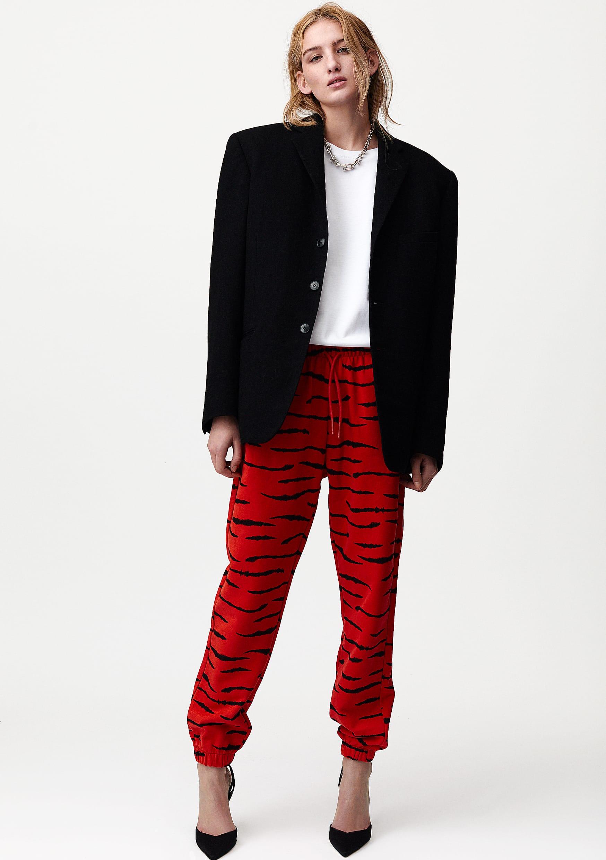 L'AGENCE - dress Cameron long shirt cardigan Lucas