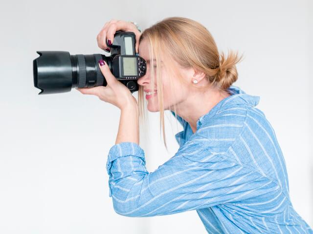 Busque referências de pessoas que atuam com fotografia de moda