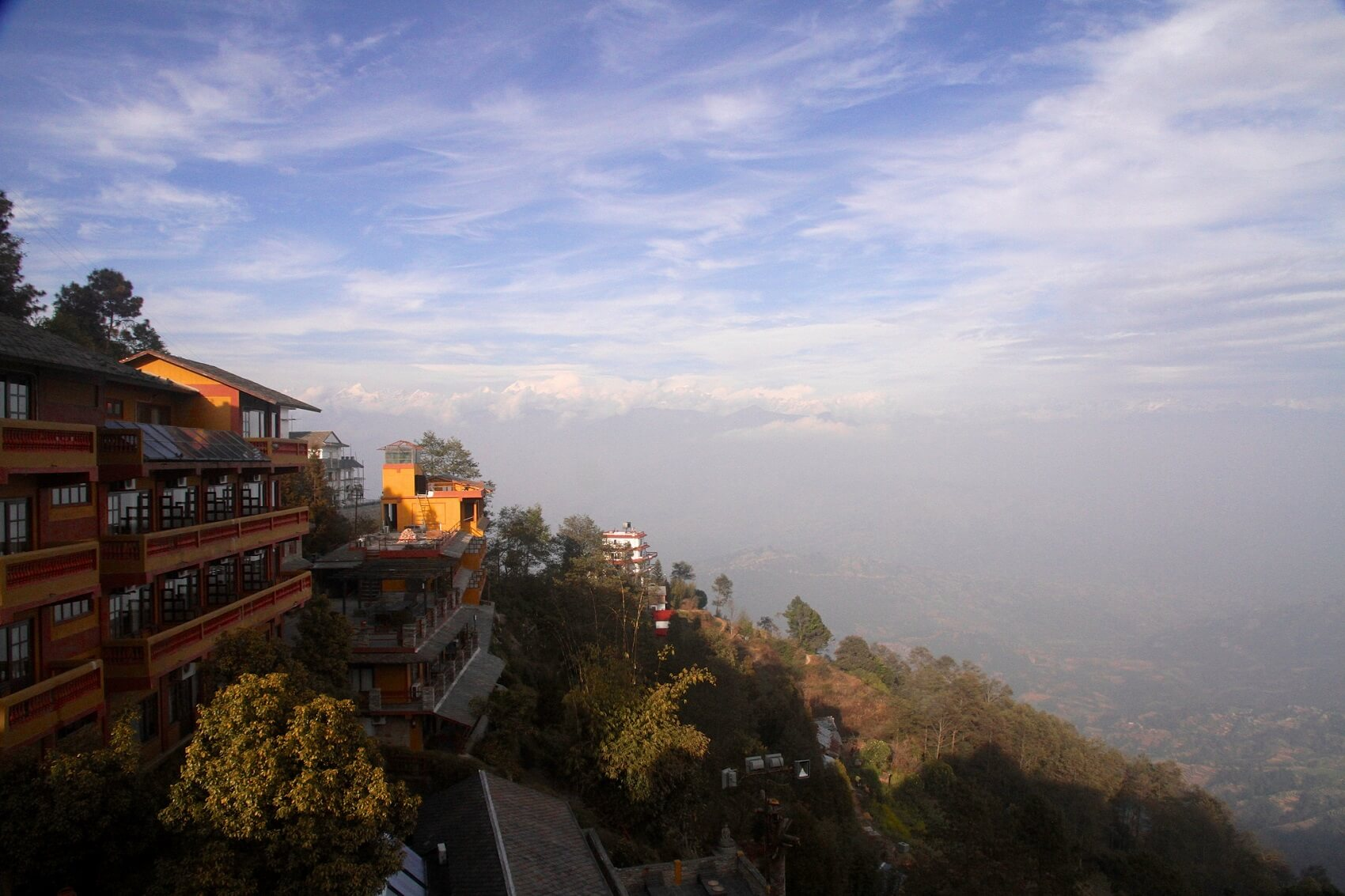 View from Nagarkot View Point