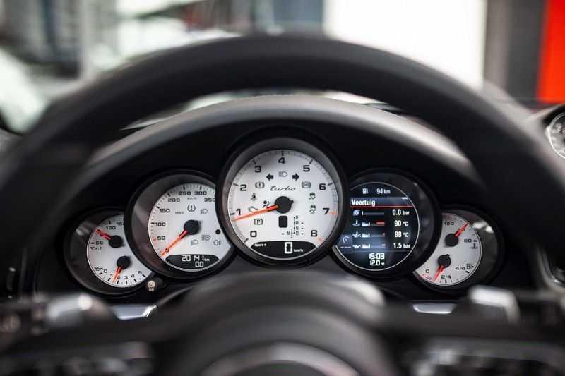 "Porsche 911 991 MKII 3.8 Turbo *Schuifdak / 20"" / BOSE / Sport Chrono / PDLS+ / Liftsysteem* afbeelding 8"
