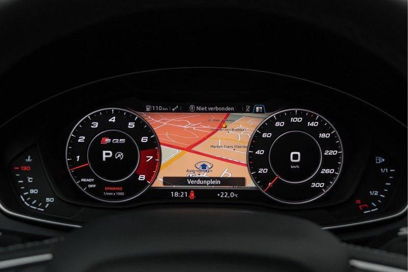 "Audi SQ5 3.0 TFSI 354pk Quattro Black Edition Panoramadak Luchtvering Valconaleder B&O Matrix-Dynamisch Keyless Navi-High ACC DriveSelect  21""Performance Camera Pdc afbeelding 23"