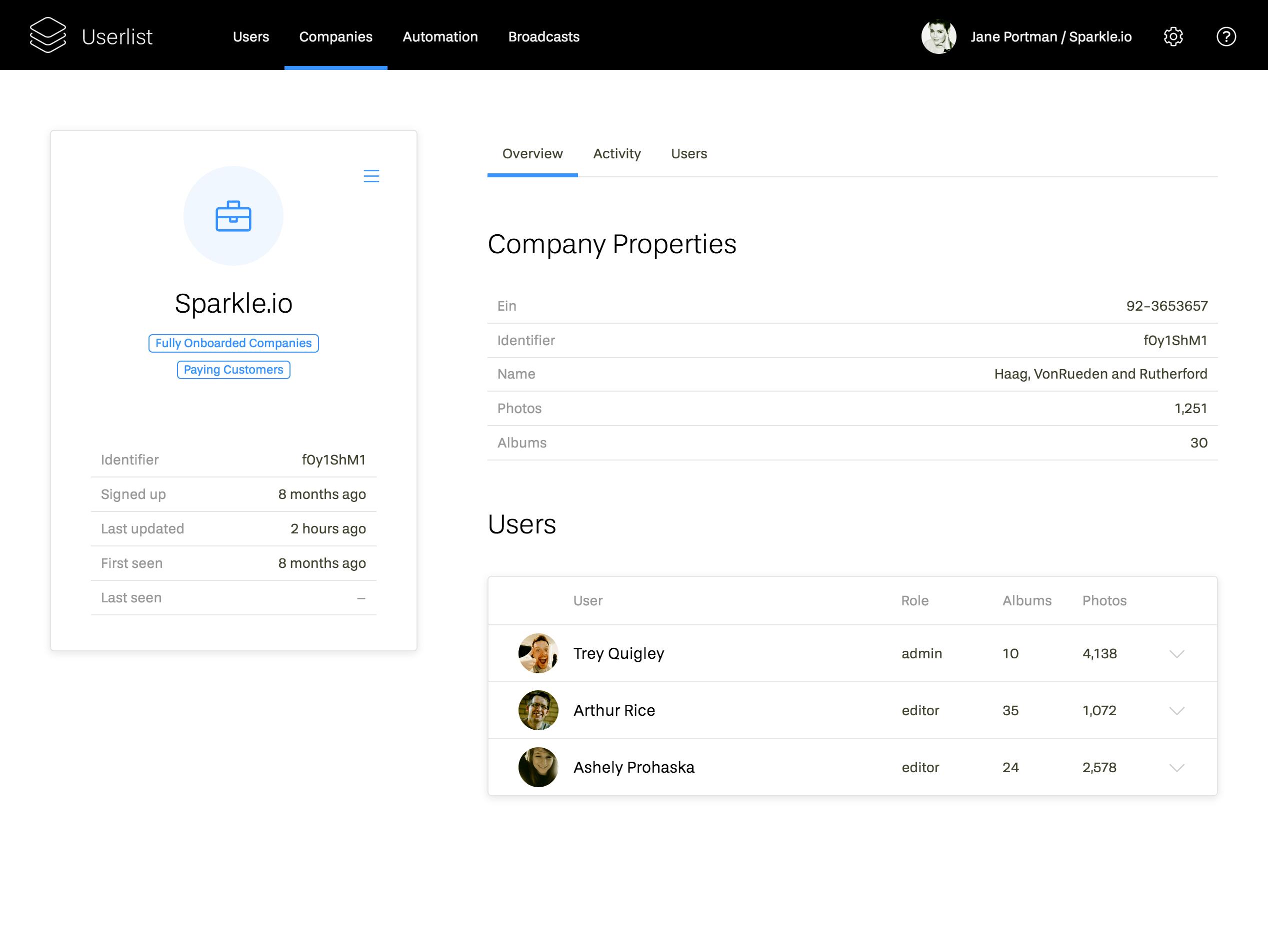 Serve companies, notindividual users