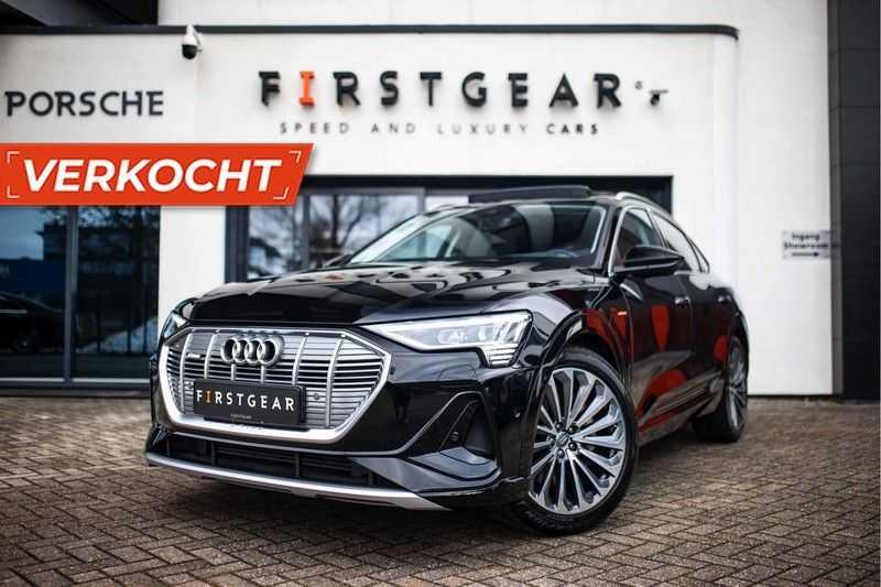 """Audi e-tron Sportback 50 Quattro S Edition *Pano / HUD / 21"""" / Stad Pakket / DAB*"""