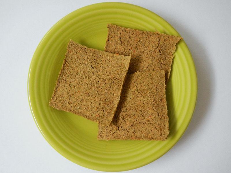 Dehydrator Pinto Veggie Crackers