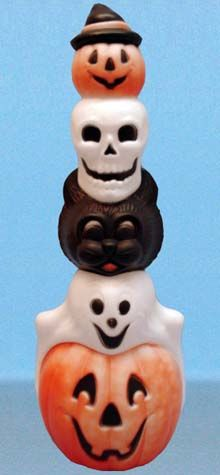 Halloween Totem Pole photo