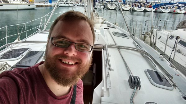 "The yacht I was staying on"" title: ""Growing a beard seemed like a great idea"