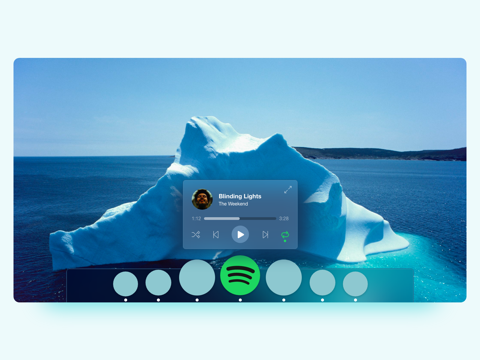 Spotify mac default ui