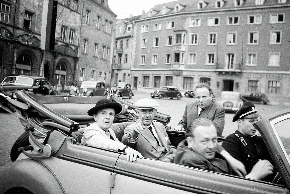 Томас Манн в1949году. Источник: blog.klassik-stiftung.de