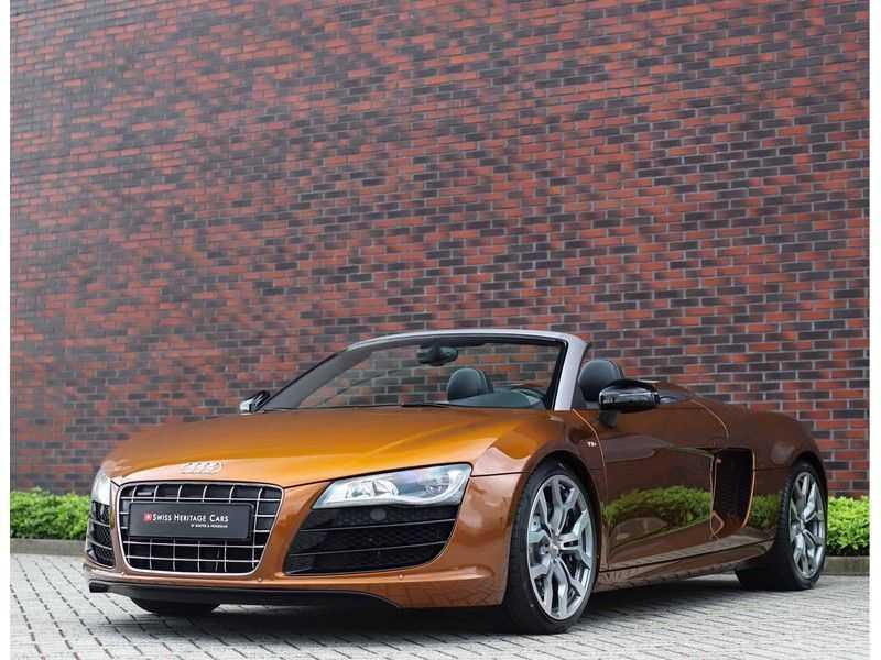 Audi R8 Spyder 5.2 V10 FSI *Magnetic Ride*B&O*Camera* afbeelding 15