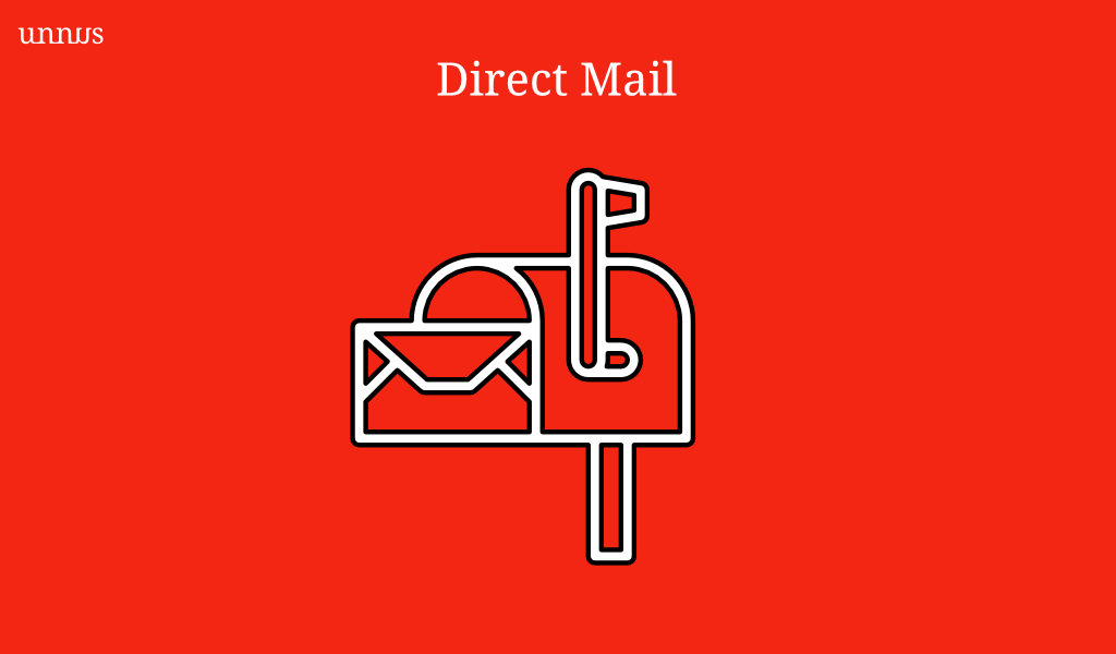 Illustration of direct mail in the healthcare industry