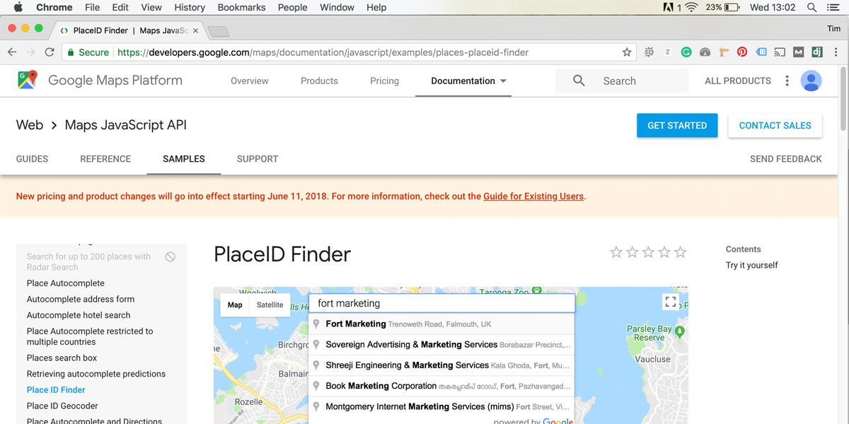 image of google placeid