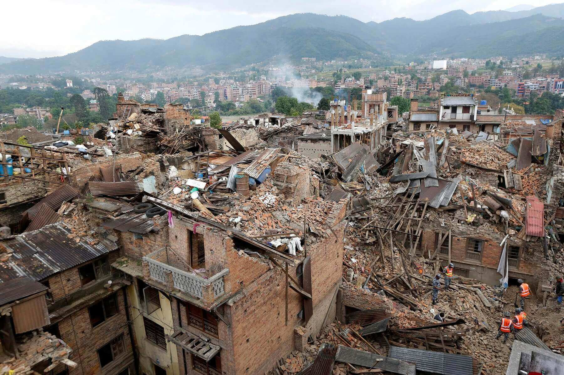 Earthquake of 2015 Nepal - Picture