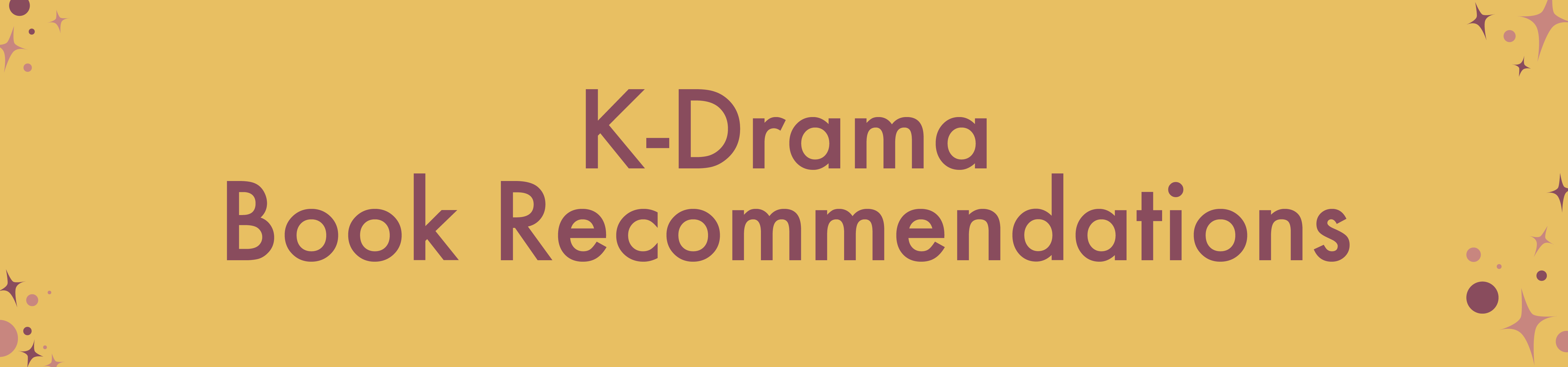 K-Drama Book Recommendations header