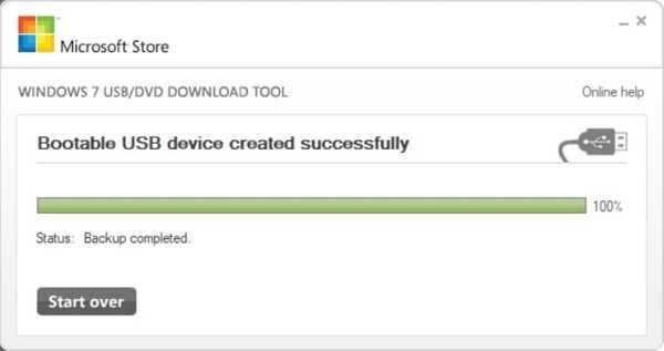 Make Bootable USB drive - Windows Tool