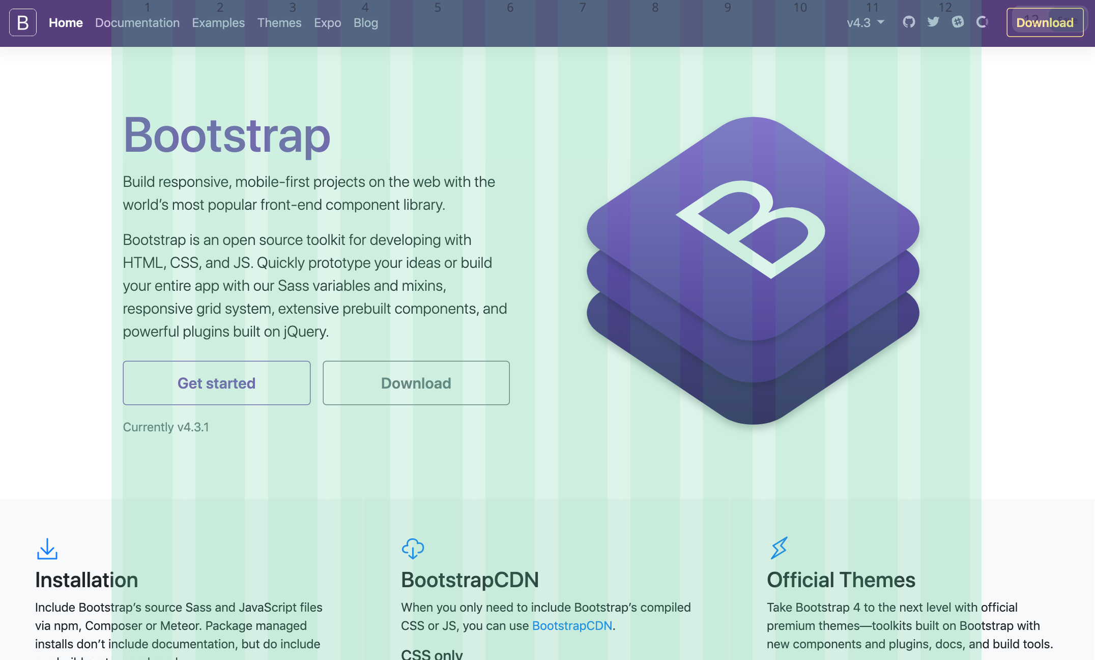 Bootstrap Grid Overlay Chrome Extension