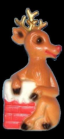 Reindeer & Chimney photo