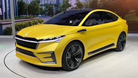 Czech company Skoda are starting to accelerate their electrification plans, with their crossover/sedan style Vision iV which could have a range beyond 300 miles (482 km).