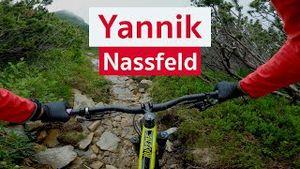 Yannik | MTB Singletrail am Nassfeld in Kärnten | PoV Mountainbike Video