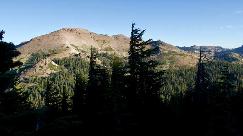 Squaw and Ward peaks