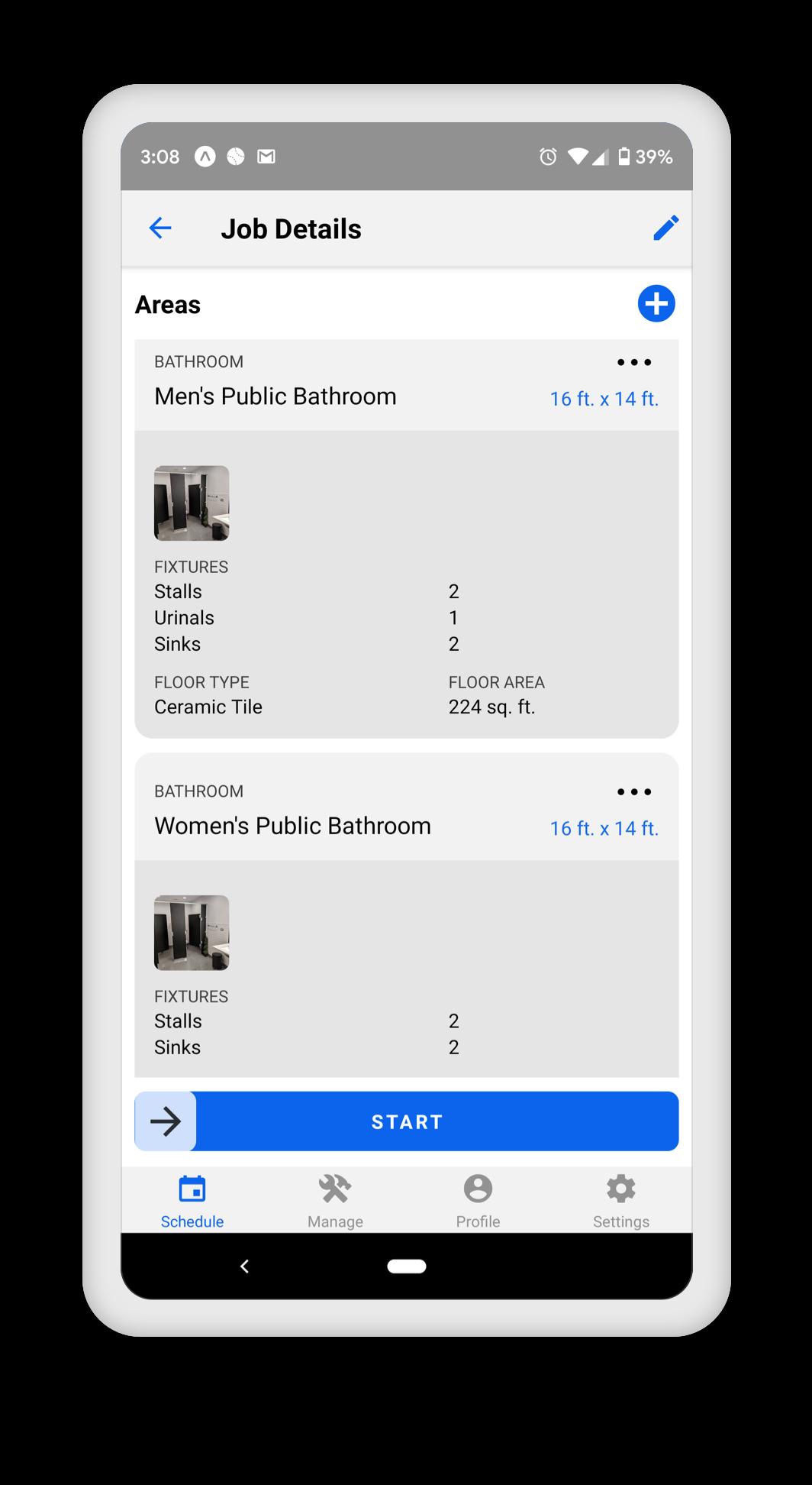 Walkthrough Builder Screens
