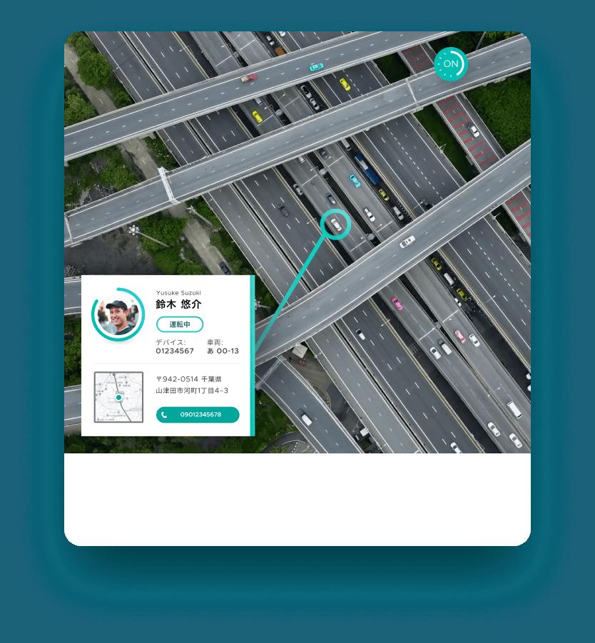 SmartDrive Fleet ドライバーの安全と車両管理を効率化