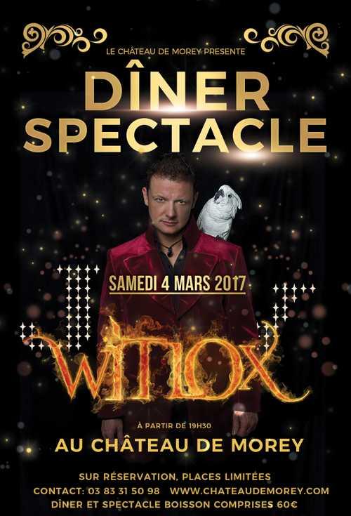 Dîner Spectacle Magique entre Nancy et Metz - Samedi 4 Mars 2017
