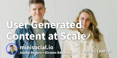 featured image thumbnail for post Creating User-Generated Content at Scale for Direct-to-Consumer Brand