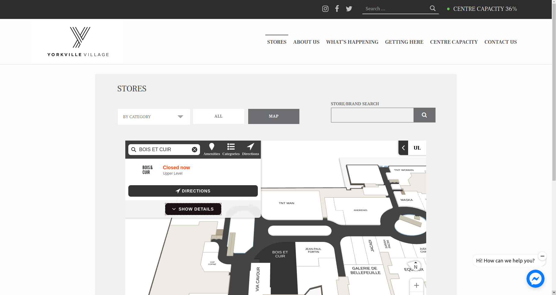 Home Page of Yorkville Village Website