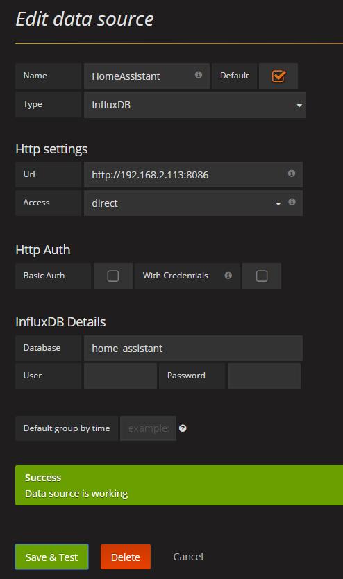 Install Influxdb & Grafana on Synology NAS in Docker