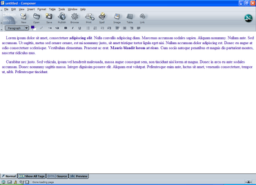 Netscape Composer