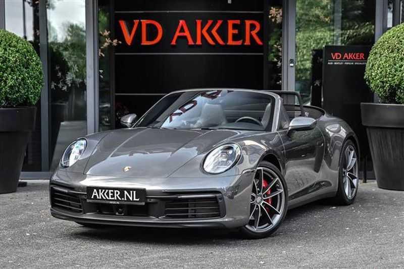 Porsche 911 S CABRIO SPORT CHRONO+SP.UITLAAT+ACC NP.203K afbeelding 1