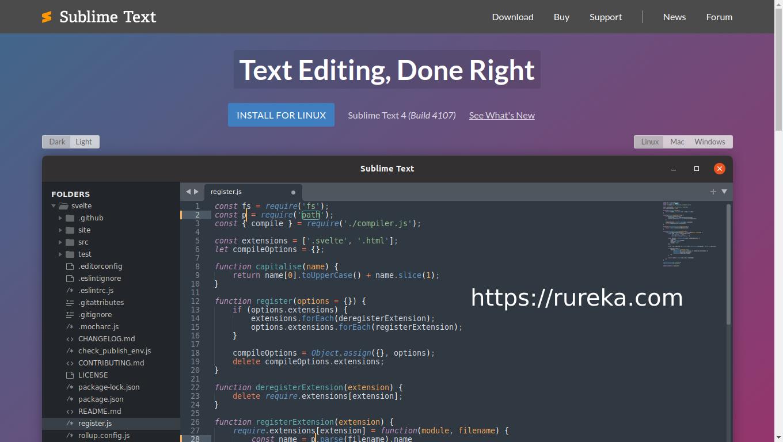 Install Sublime Text 4 di Armbian dan Ubuntu arm64