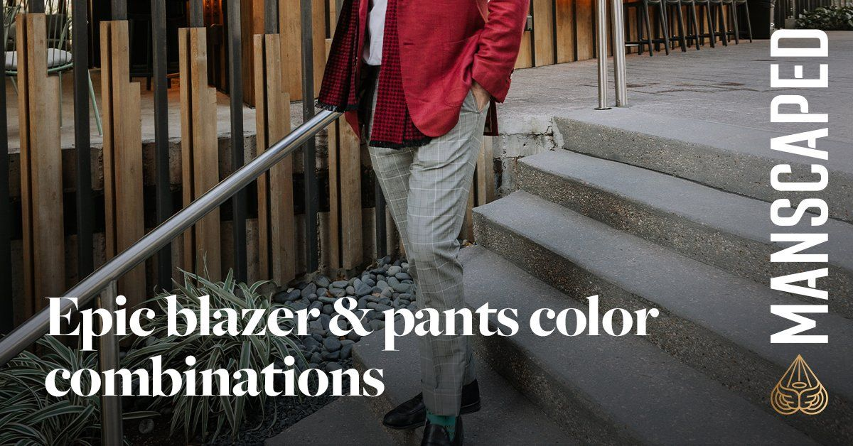 9 Epic Blazer & Pants Color Combinations - 2021 Edition