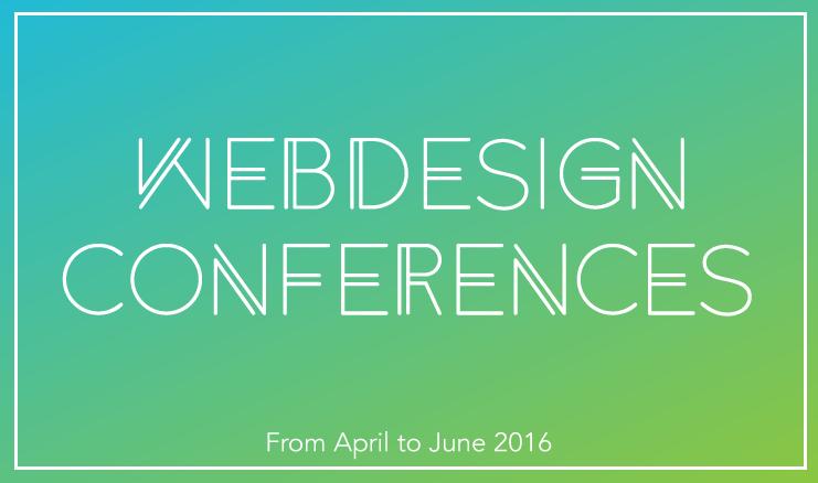 11 British Web Design Events for Spring 2016