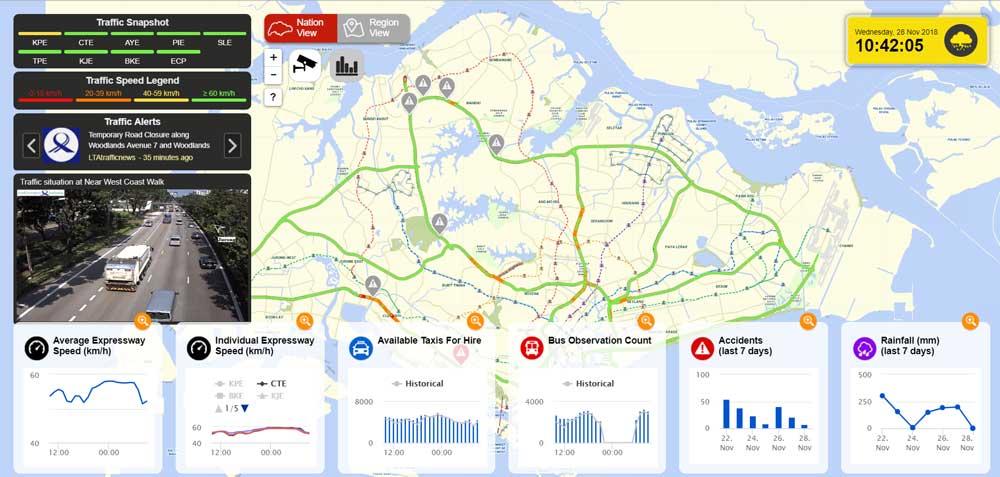 SG Traffic Watch screenshot
