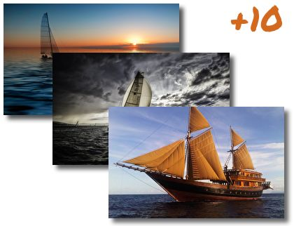 Sailing Boats theme pack