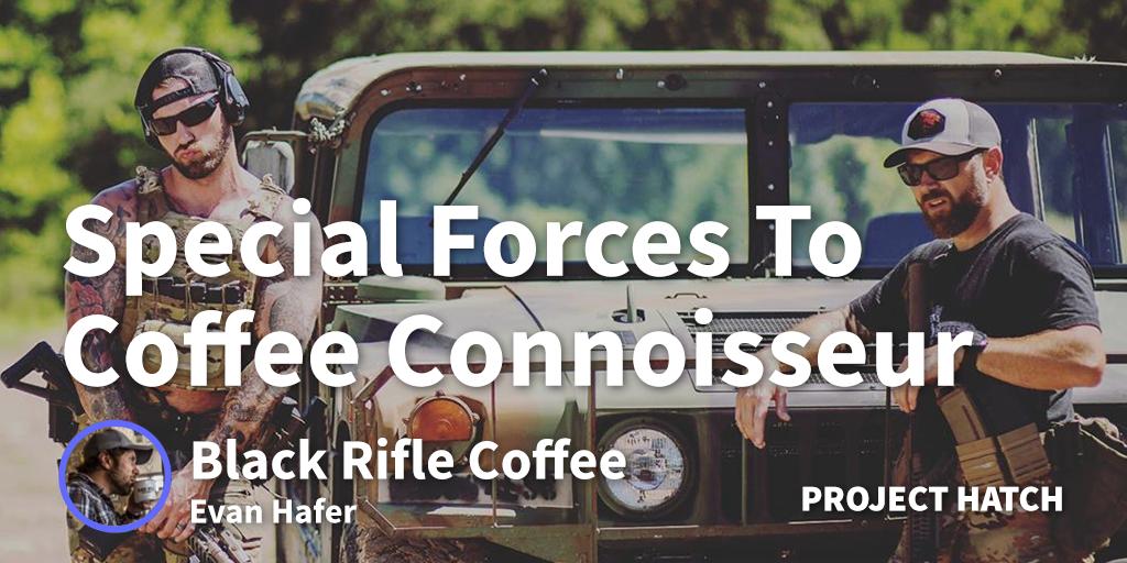 evan hafer black rifle coffee