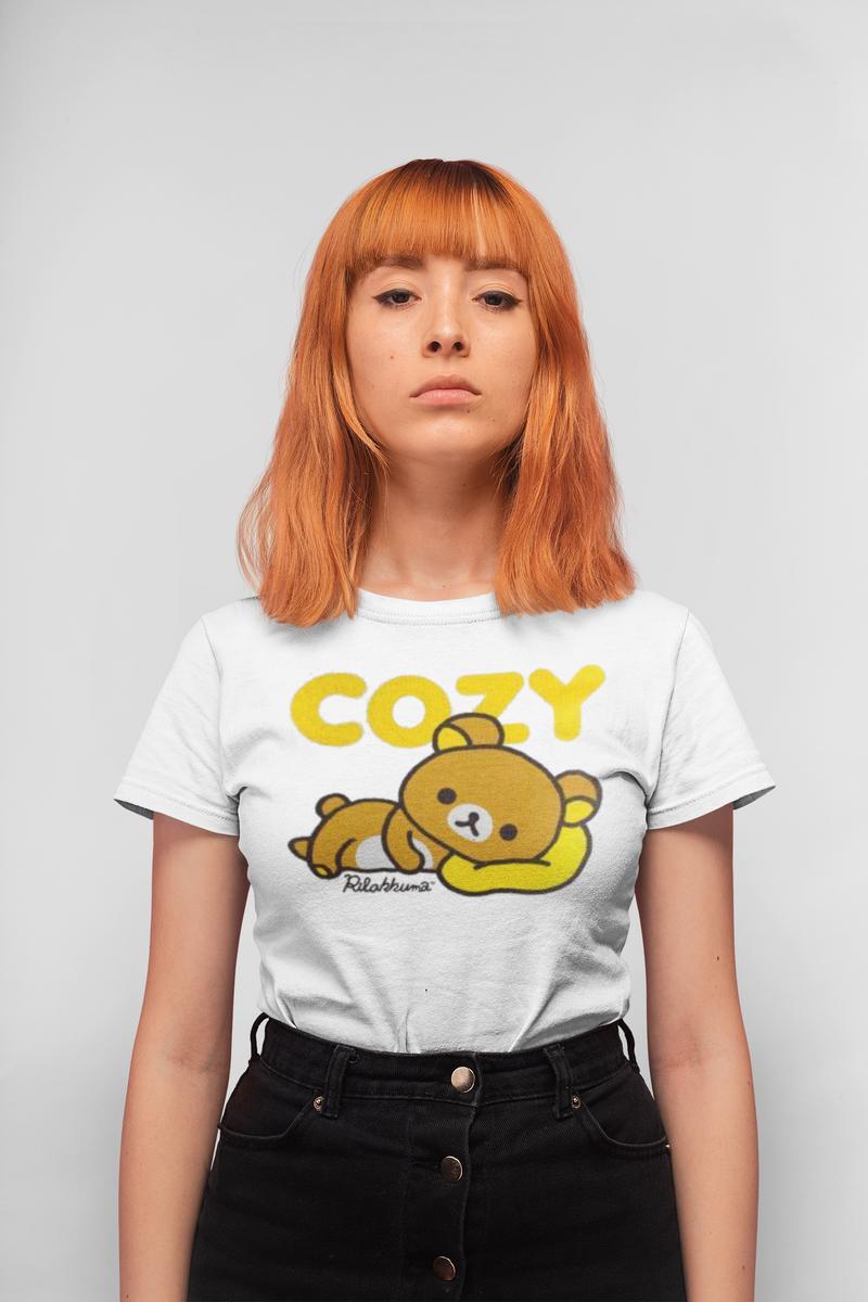 Rilakkuma Cozy White T-shirt