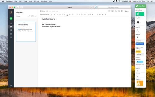 small toolbar