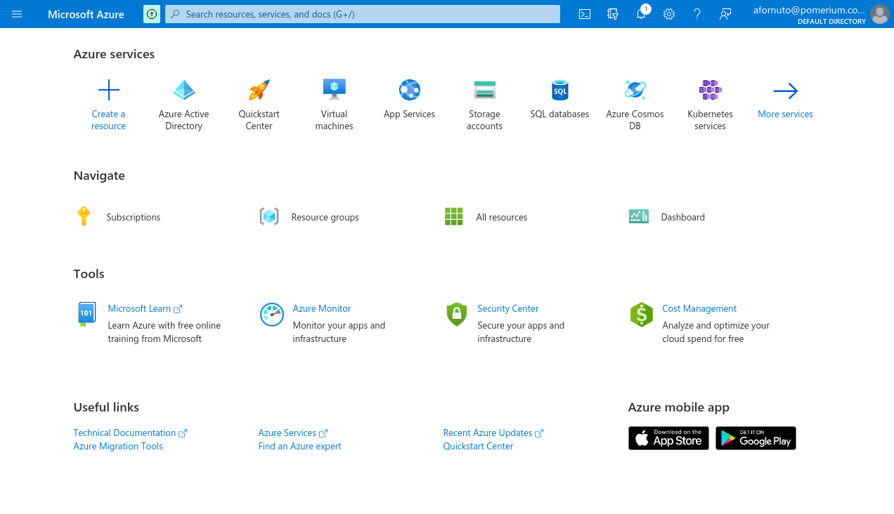 Select Active Directory
