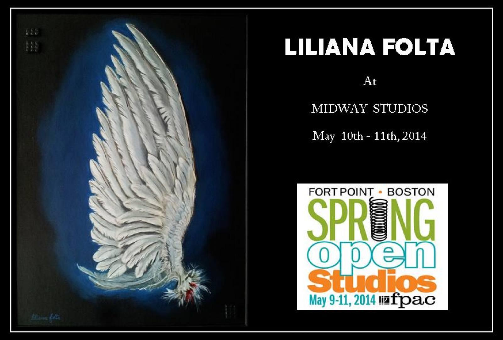 Midway Spring Open Studios 2014 flyer