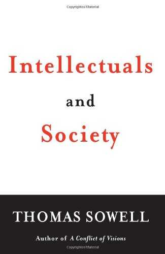 Intellectuals and Society Cover