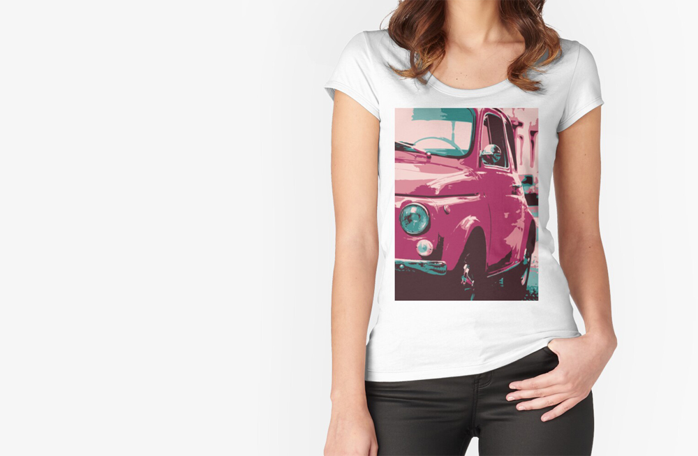 Women Fitted Scoop T-Shirts by thespeedart