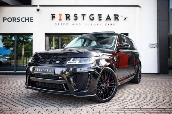 Land Rover Range Rover Sport P575 SVR *Pano / Meridian / Standkachel / HUD / ACC / Pixel-LED*
