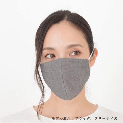 ファブリックケアマスク OCブラック モデル1